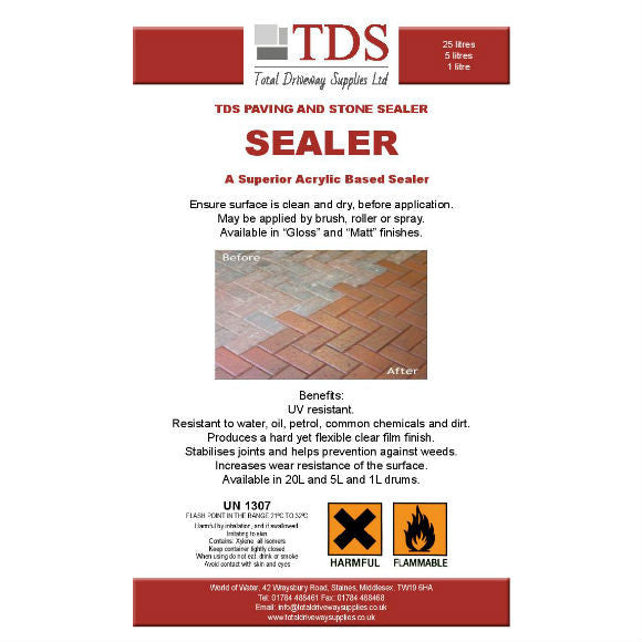 TDS Coloured Sealer