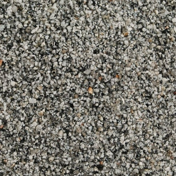 Silver Grey Granite 1 - 3 MM Aggregate- Available in 25 kg bags, or pallet quantities. Bulk Bags please call for details and availability.