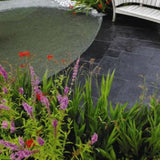 Smart Rippled Limestone - 22 MM Callibrated Mixed Size Patio Packs Covers 15.37 sqm