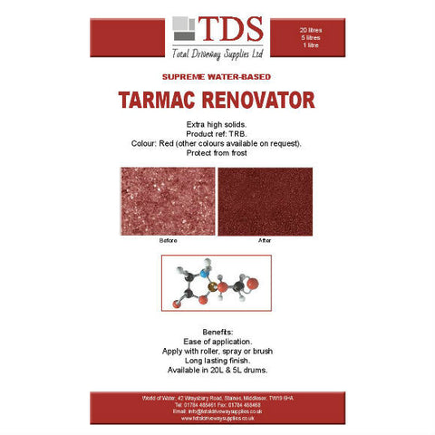 TDS Back to Red 20 ltrs Tarmac