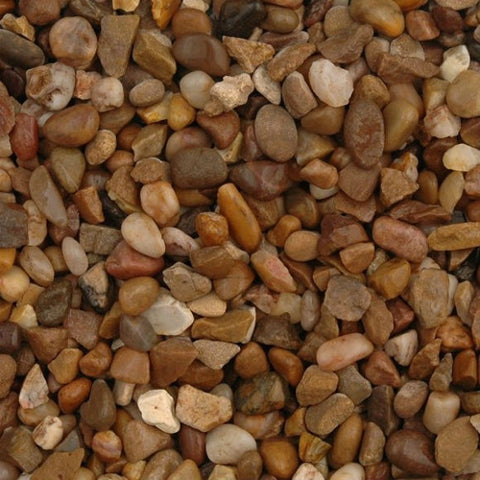 Trent Pea Gravel 3 - 6 mm mainly rounded
