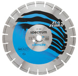 Ultimate ZCA Zebra - Floor Saw Dual Purpose Diamond Blade