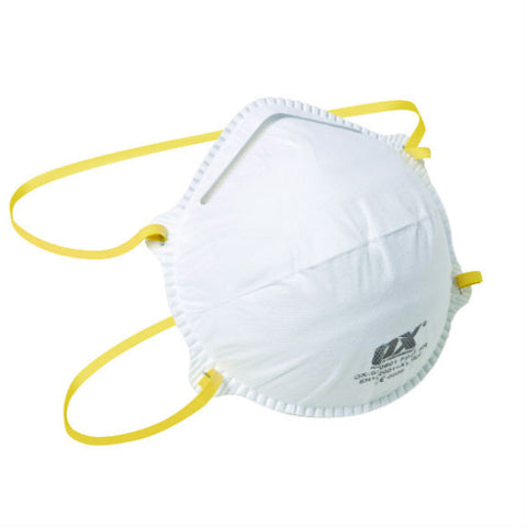 FFP1 MOULDED CUP RESPIRATOR - 20PK
