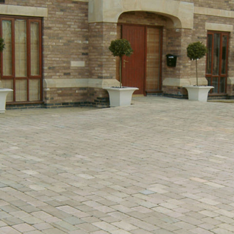 Fossestone Natural Stone Block Paving Collection 50 MM Thick - Available in Single Size Packs and a 3 Size Pack