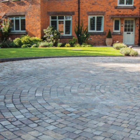 Weathered Cobbles - Sandstone except Ebony which is Limestone - Available in Mixed or Single Size Packs