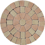 Castlepave Smooth Circle 2.1 M dia - Complete Circle Kit