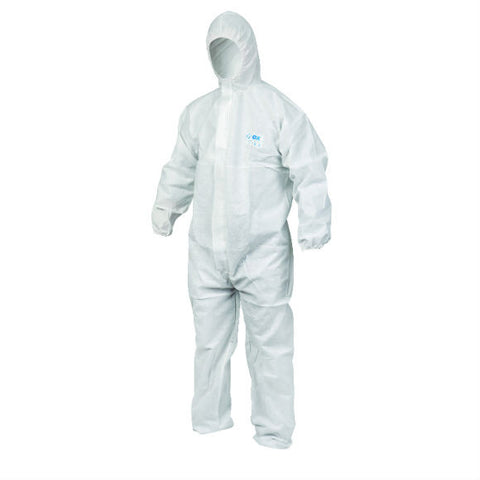 TYPE 5/6 DISPOSABLE COVERALL - Available in 6 Sizes
