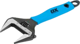 PRO ADJUSTABLE WRENCH EXTRA WIDE JAW - 12""