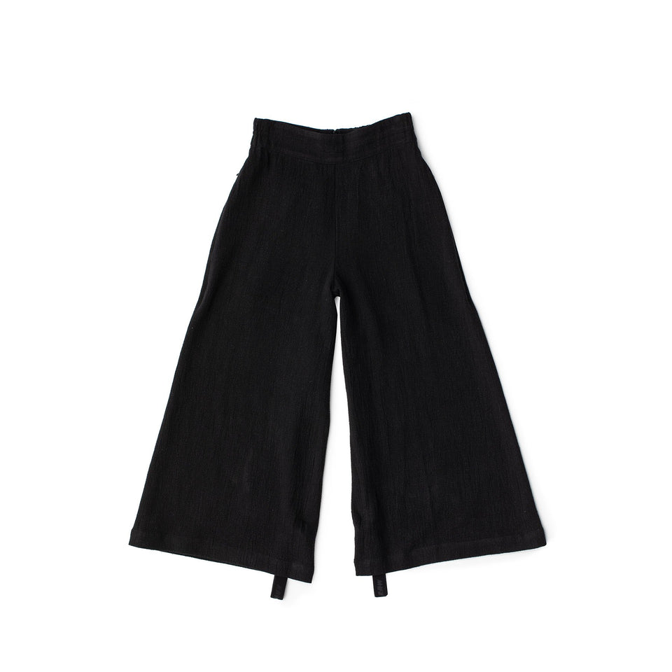 RAW Women Wide-leg Pants Black S-M (sample)