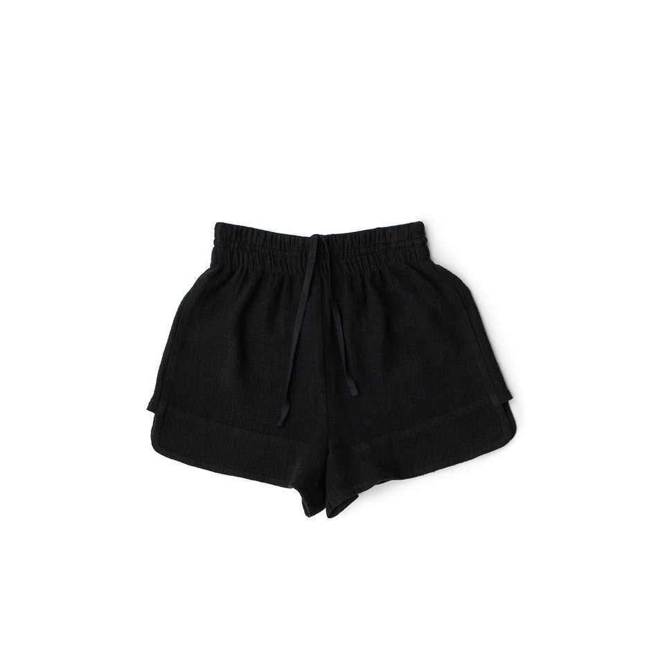 RAW Men Running Shorts Black