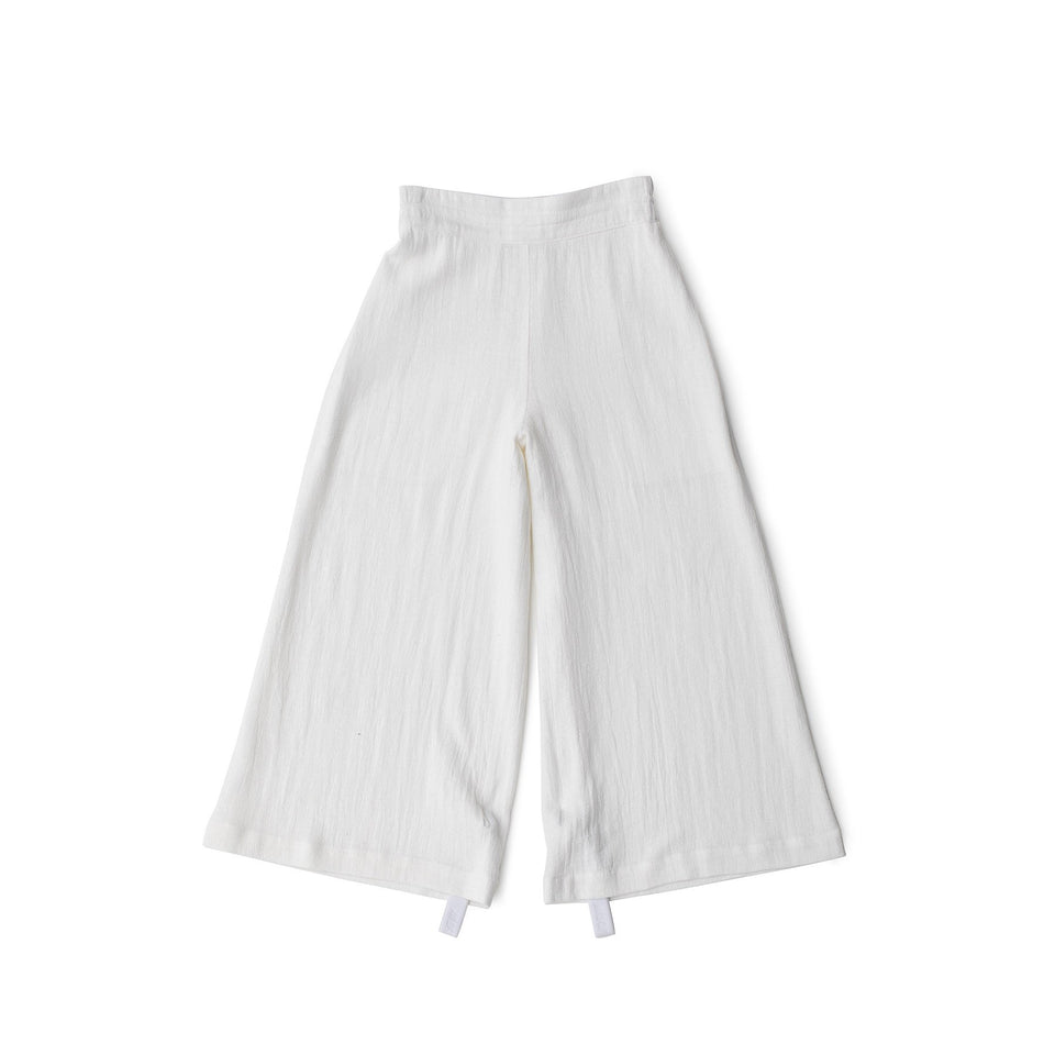 RAW Women Wide-leg Pants White