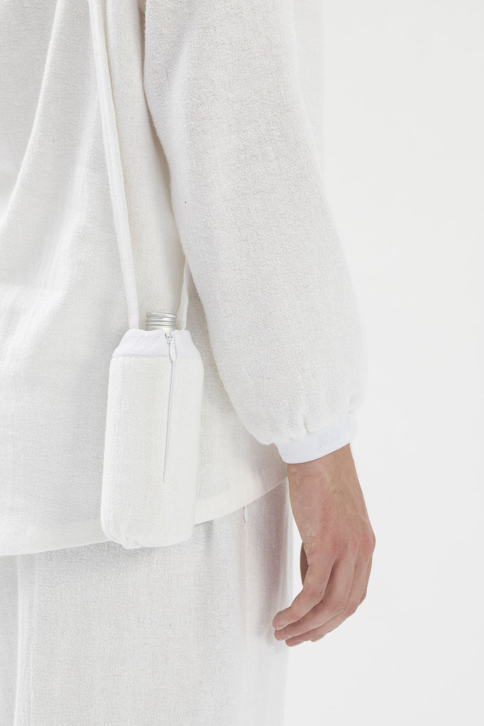 RAW U-Bottle Bag White (sample)