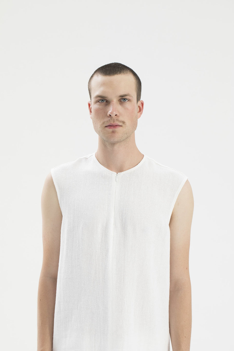 RAW Men Tank Top White