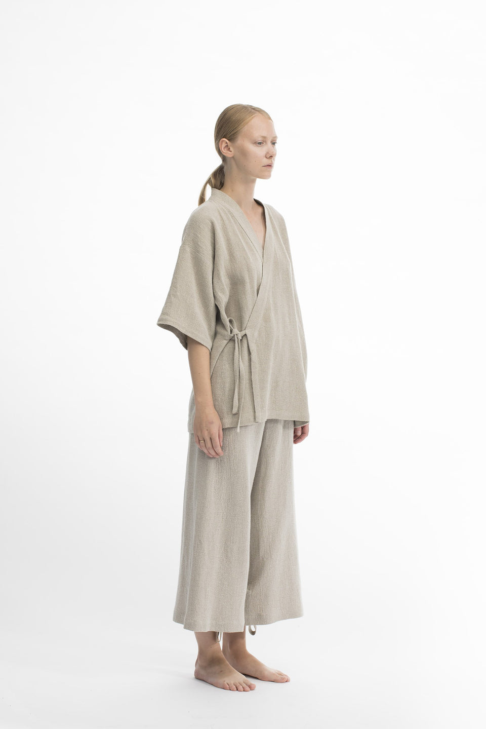 RAW Women Kimono Set Natural