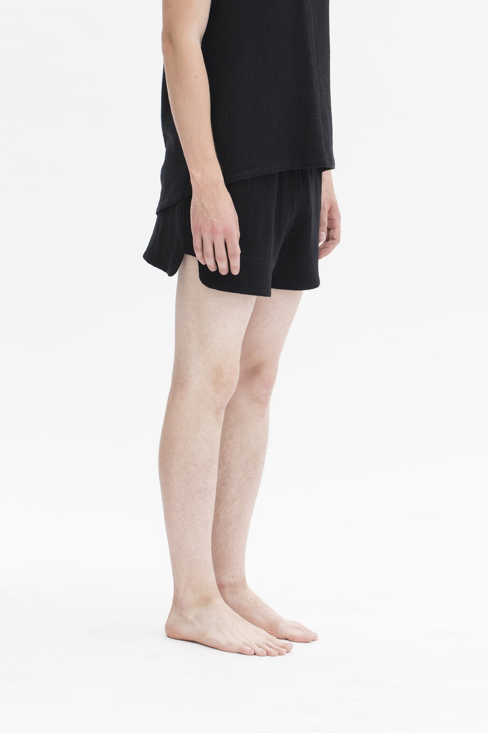 RAW Men Running Shorts Black (Sample) S-M