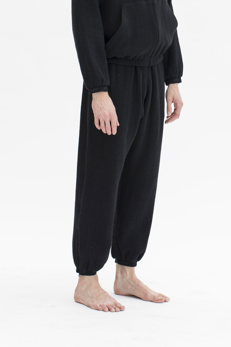 RAW Men Sweatpants Black