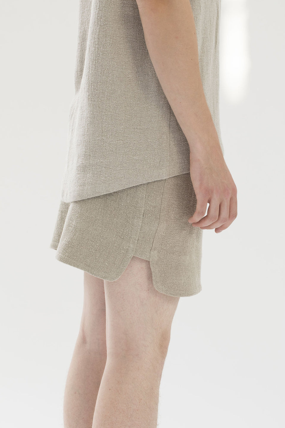 RAW Men Running Shorts Natural