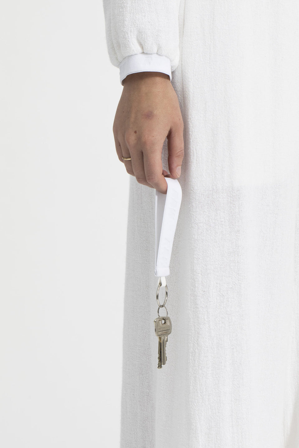 RAW U-Key Ring White