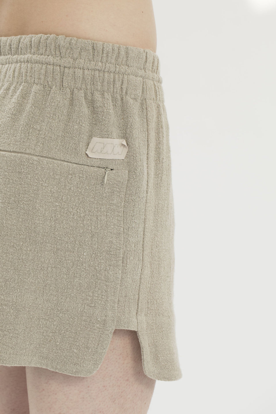 RAW Men Running Shorts Natural (sample) S-M