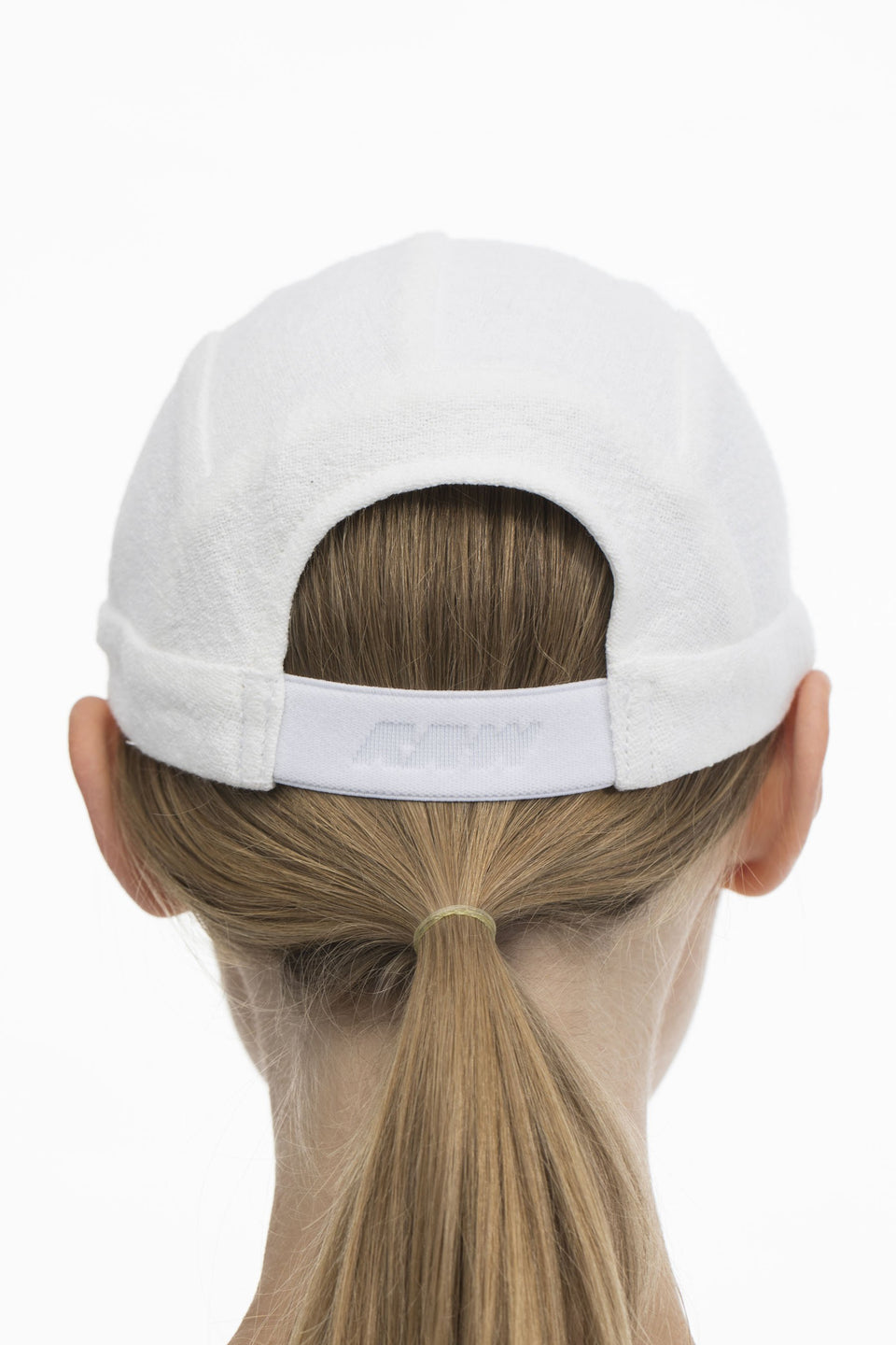 RAW U-Jogging Cap White