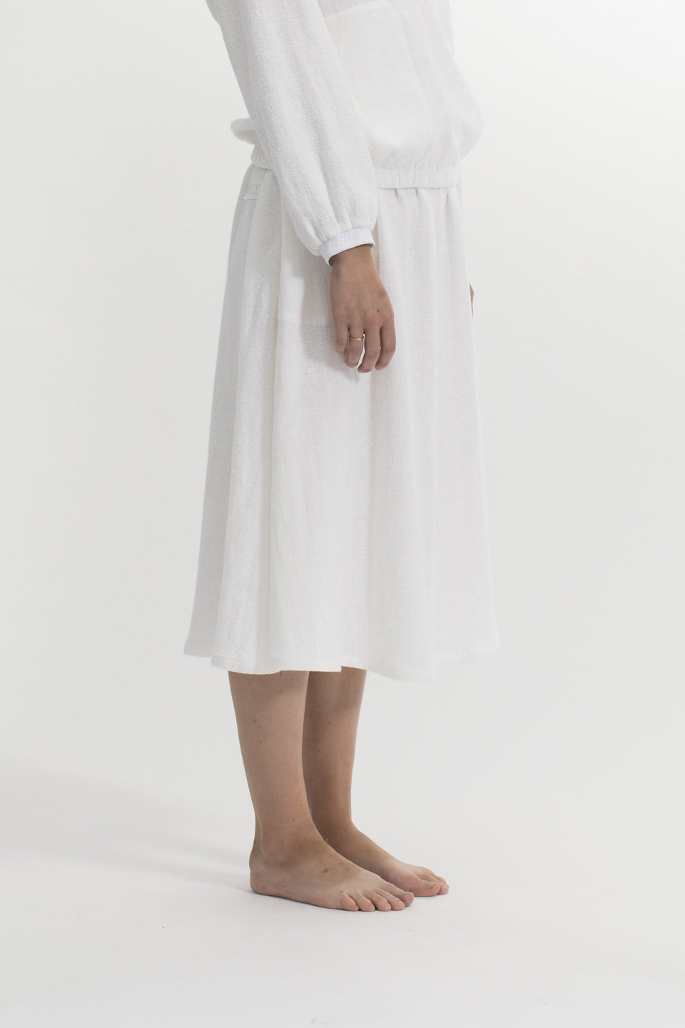 RAW Women Comfort Skirt White