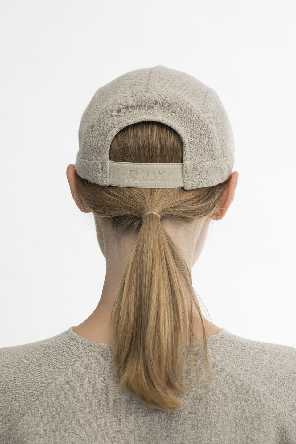 RAW U-Jogging Cap Natural
