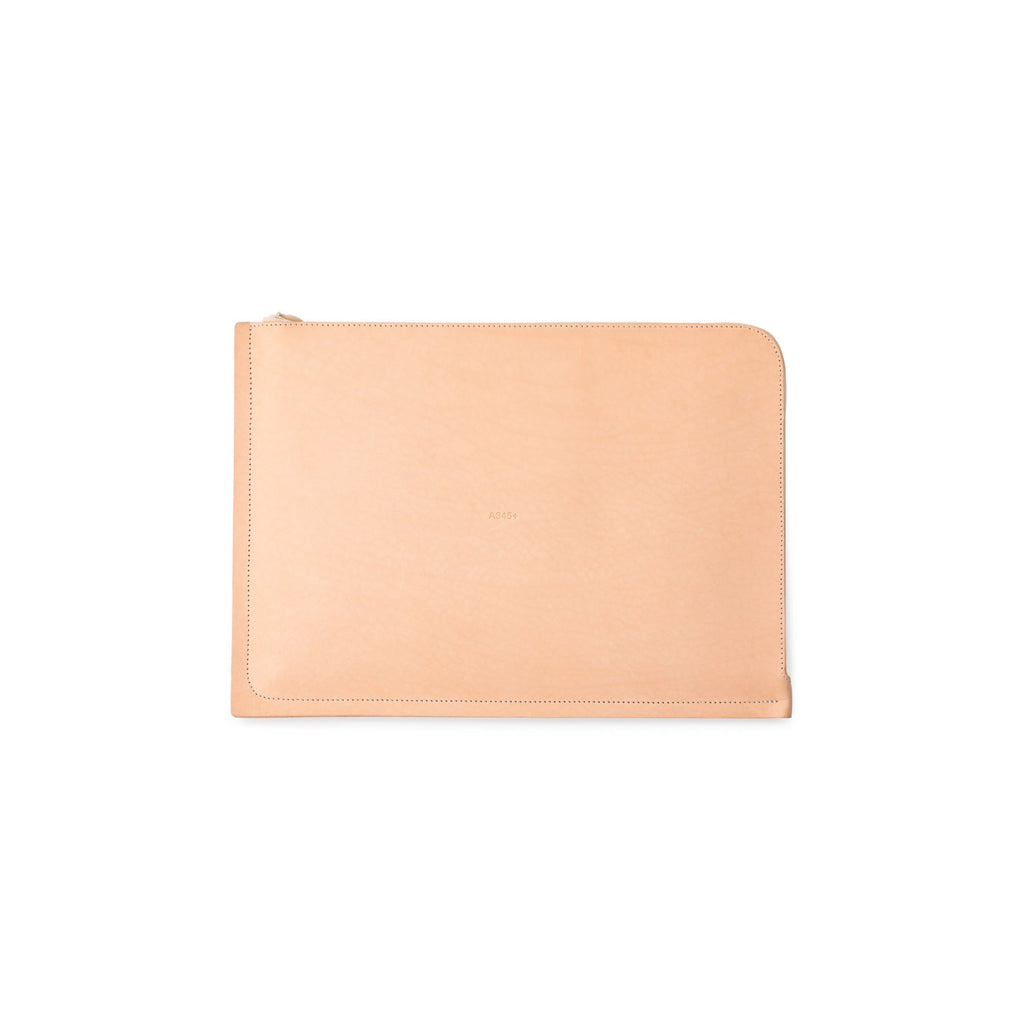 "C4 Leather Macbook 12"" Case Natural (Sample)"