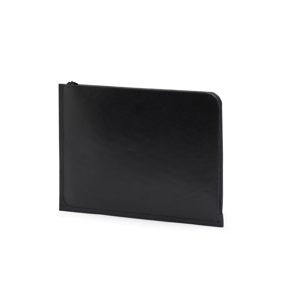 "C4 Leather MacBook Air 13"" Case Black (sample)"