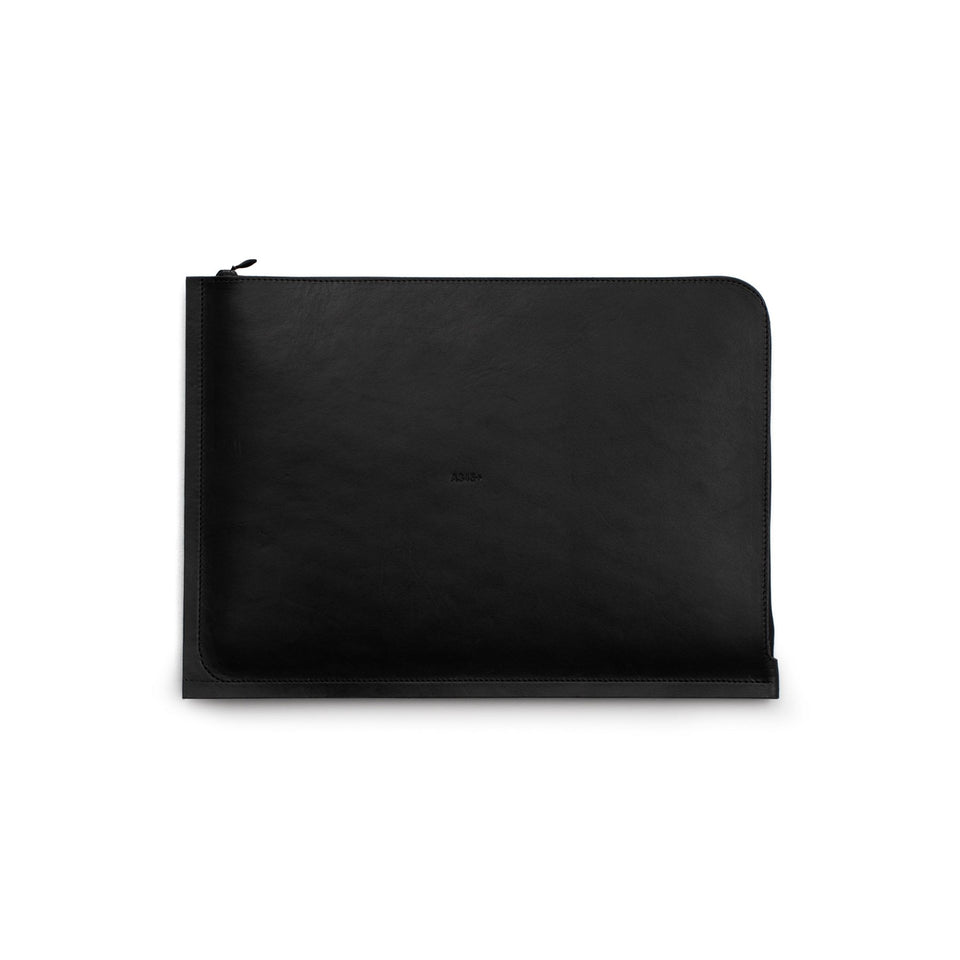 "C4 Leather MacBook Air 13"" Case Black"