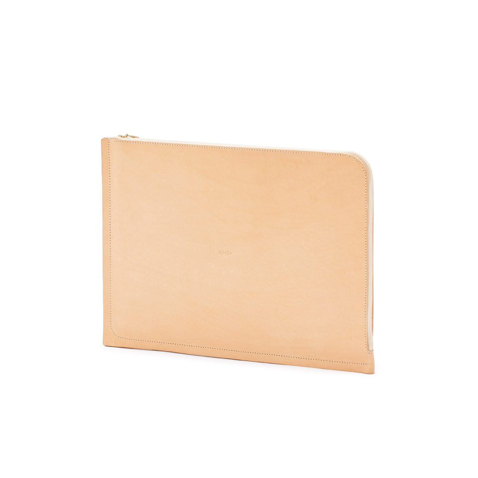 "C4 Leather MacBook Air 13"" Case Natural (sample)"