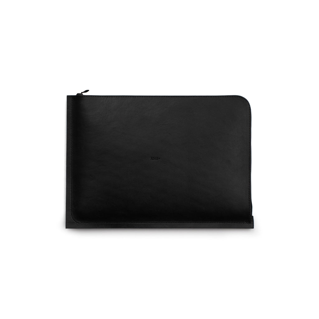 "C4 Leather MacBook Pro 13"" Case Black (Sample)"