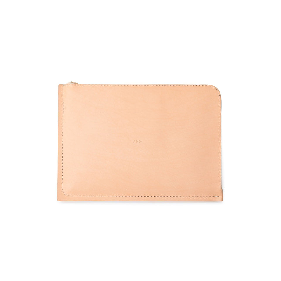 "C4 Leather MacBook Pro 13"" Case Natural (sample)"
