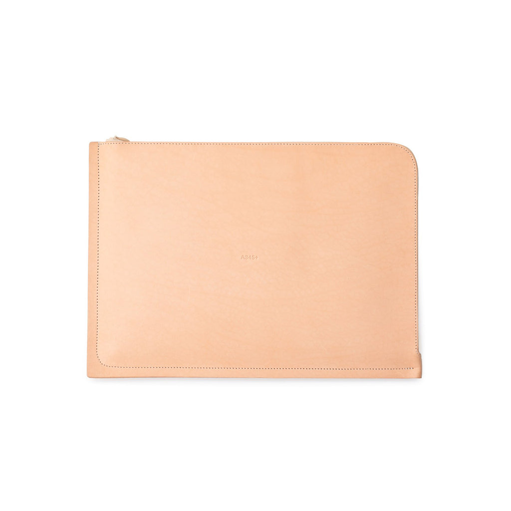 "C4+ Leather MacBook Pro 15"" Case Natural (Sample)"