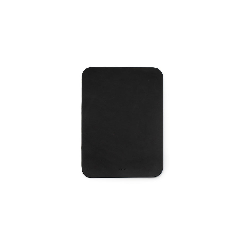 A4 Leather Mouse Pad Black