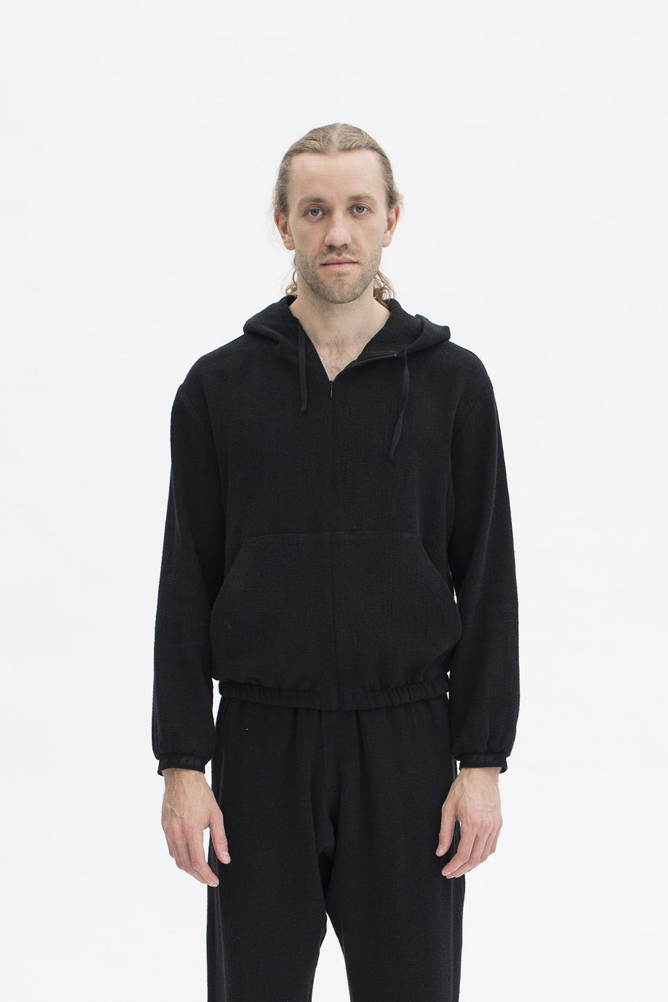 RAW Men Hoodie Black