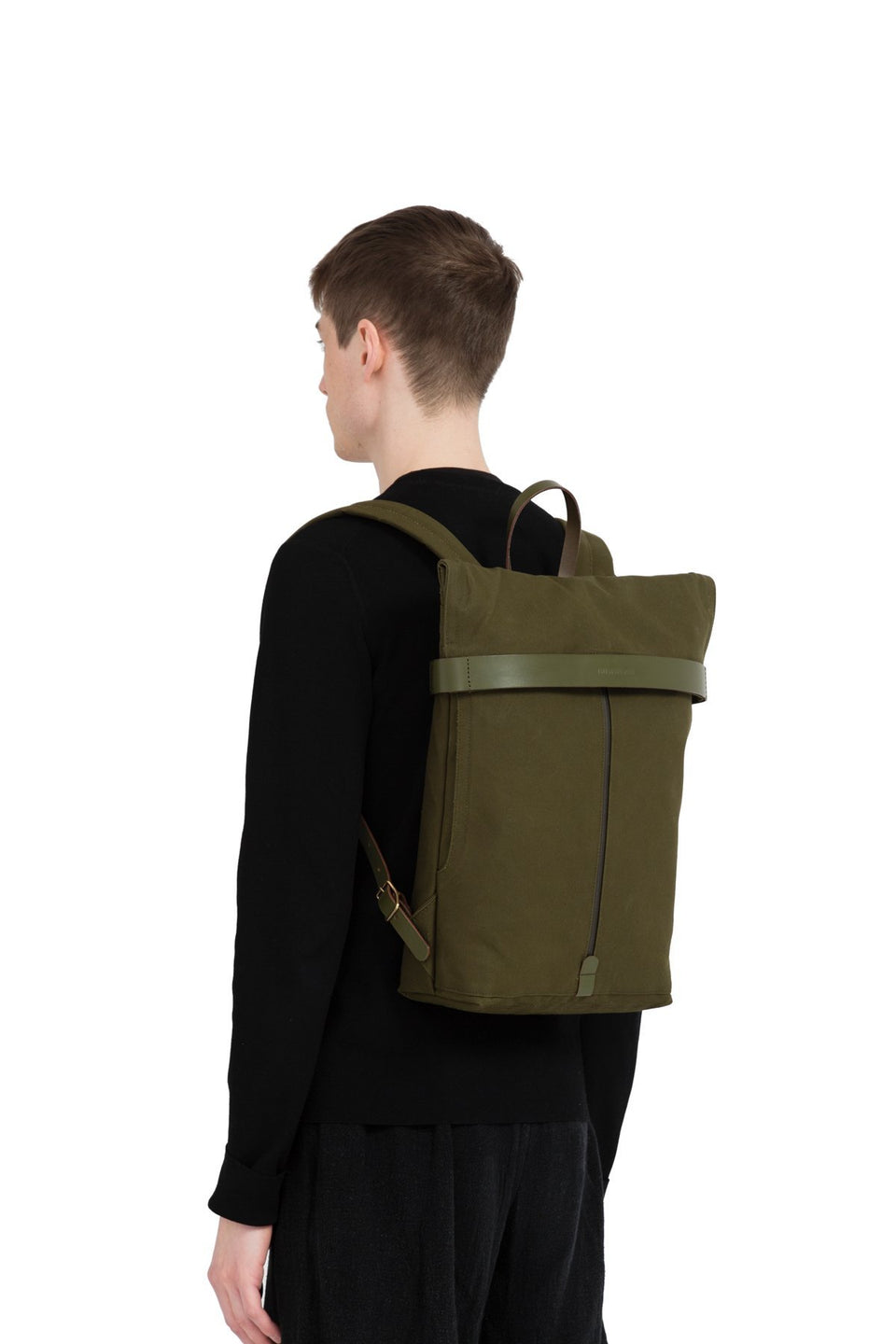 Thisispaper Atom Backpack Army Green