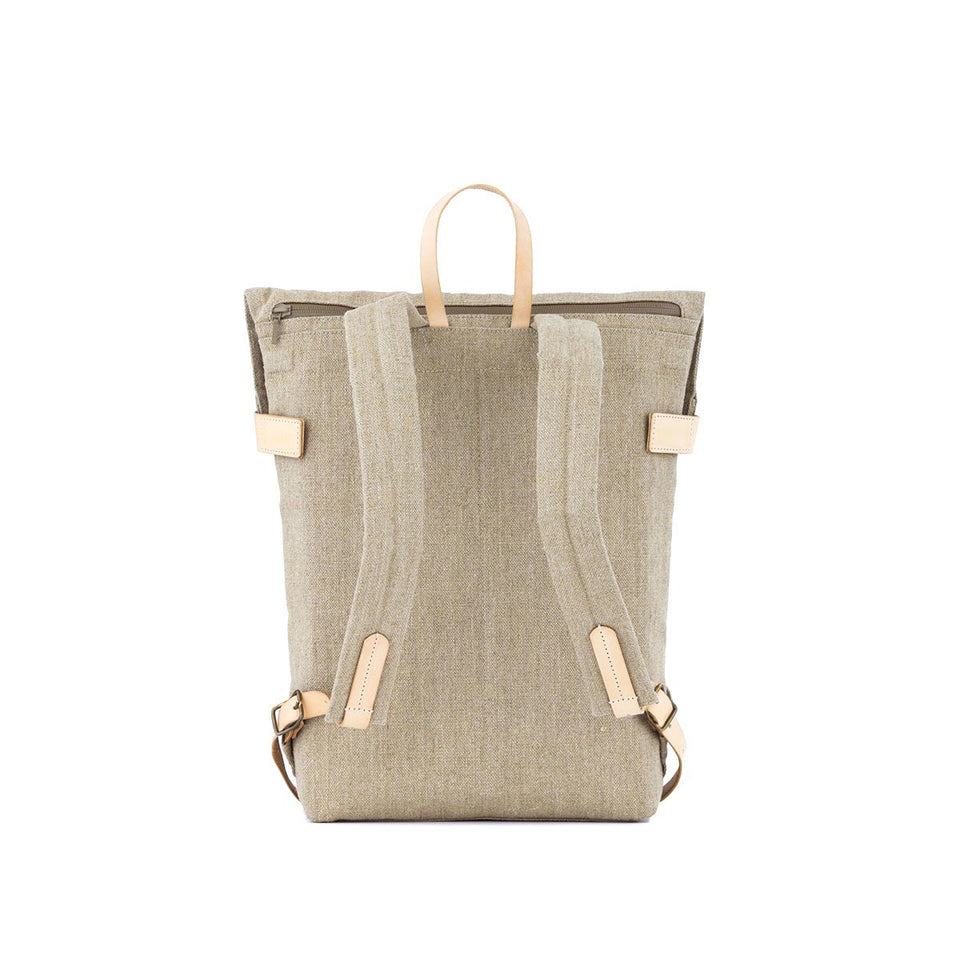 Thisispaper Atom Backpack Raw Natural