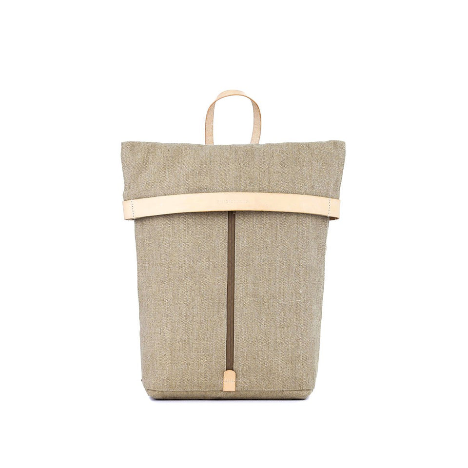 Thisispaper Atom Backpack Raw Natural (sample)