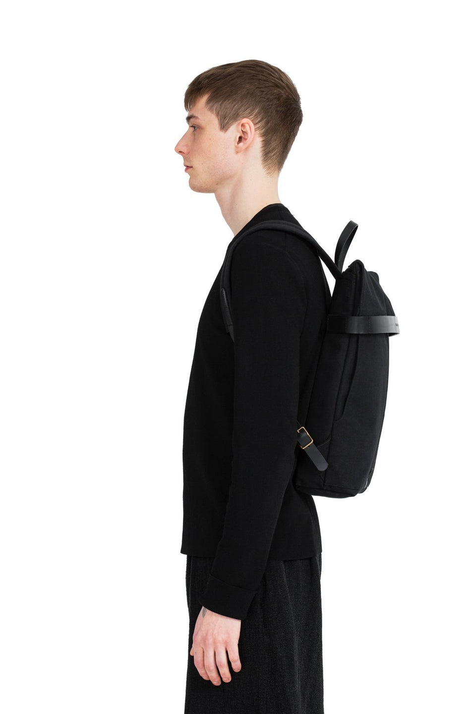 Thisispaper Atom Backpack Solid Black (sample)