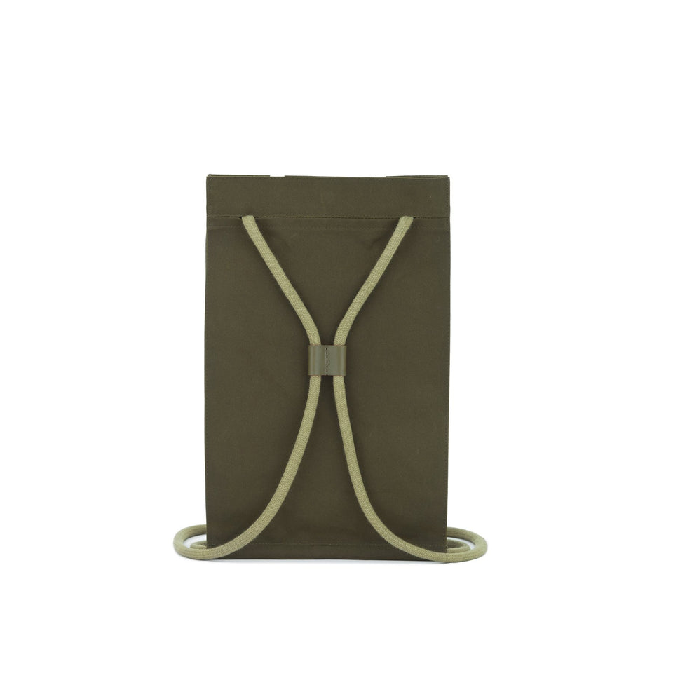 Thisispaper Pocket Bag Medium Army Green