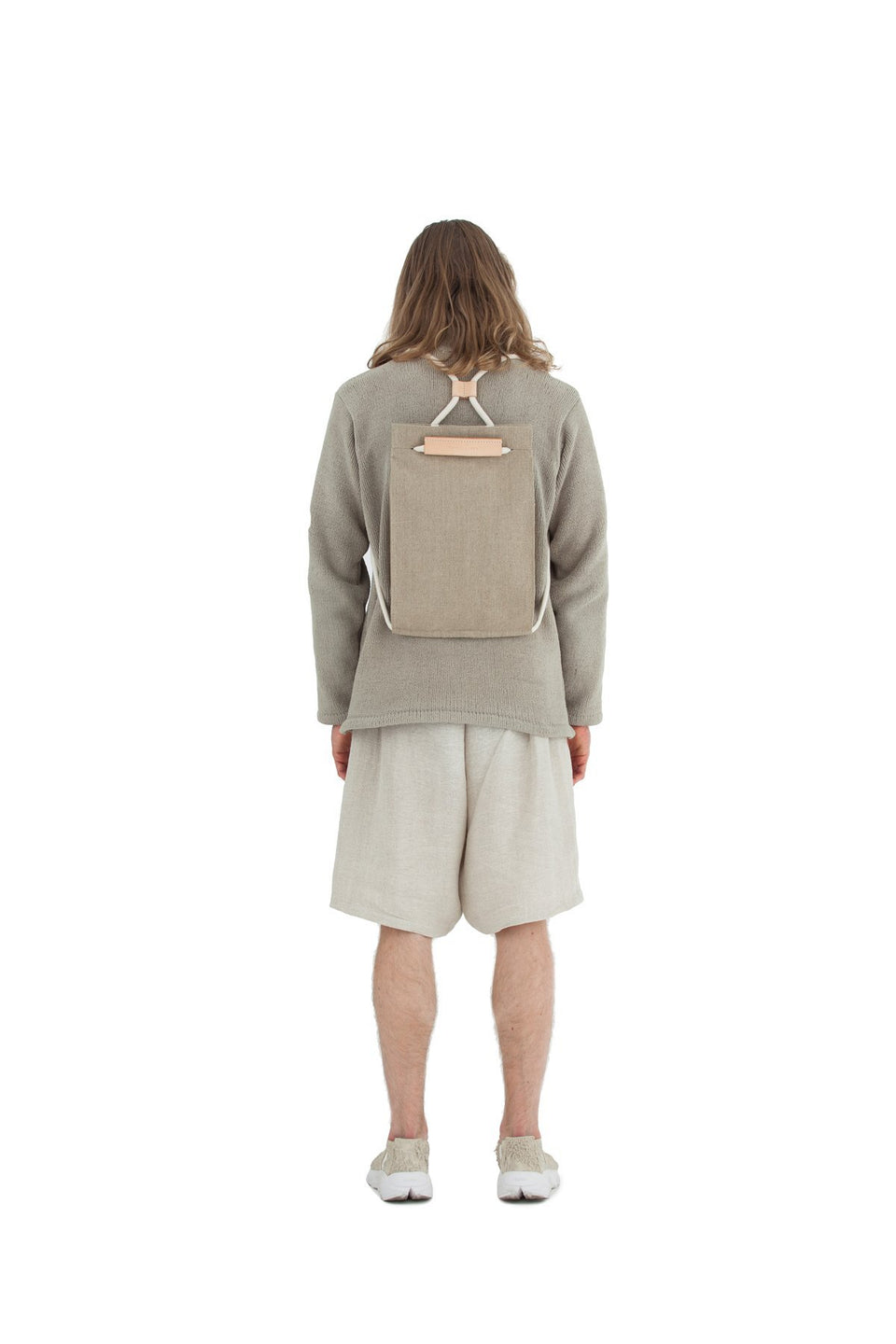 Thisispaper Pocket Bag Medium Raw Natural