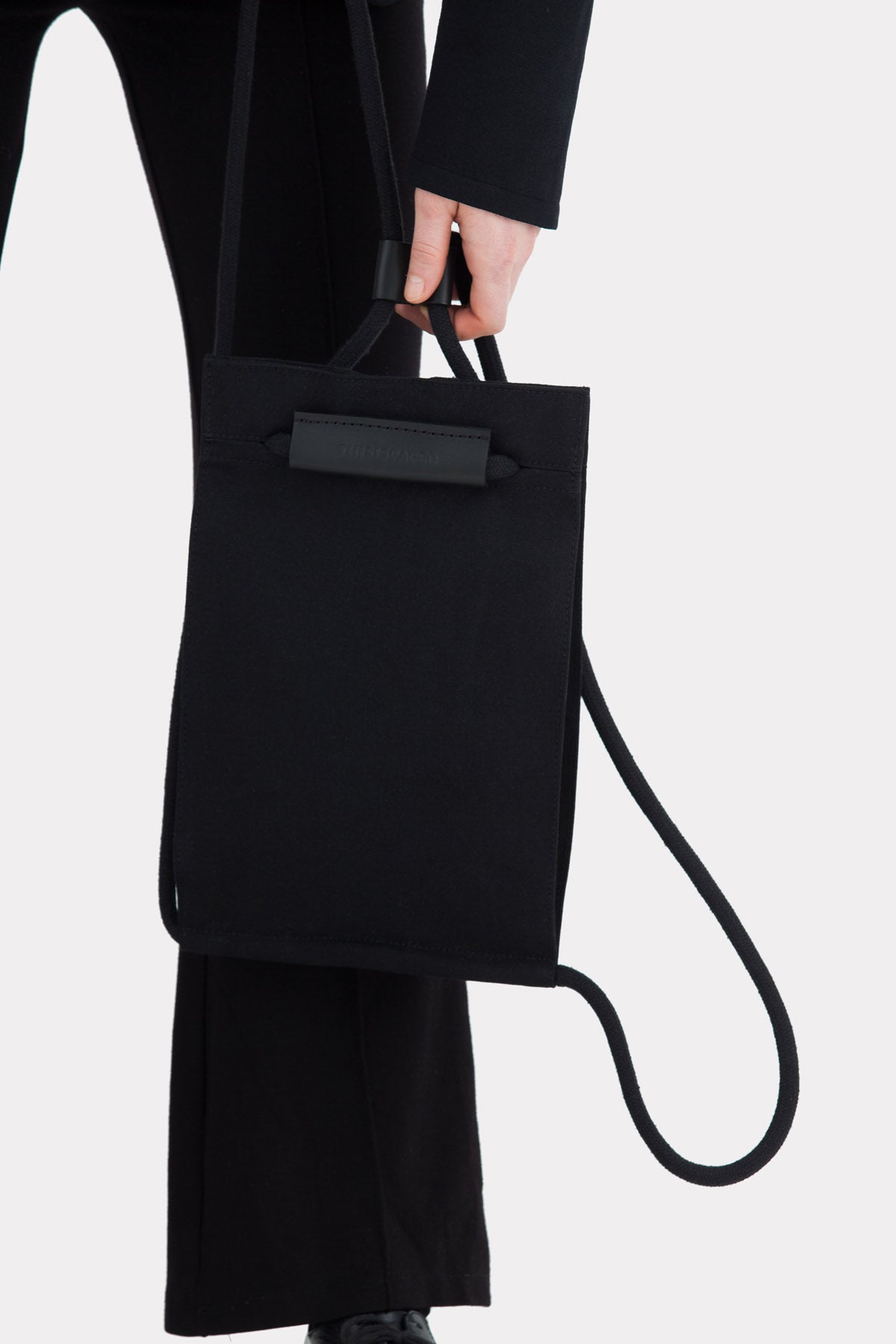 Pocket Bag Small Solid Black (Sample)