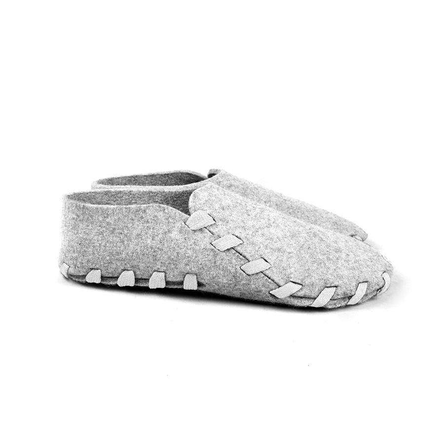 Lasso Classic Slippers Grey&White