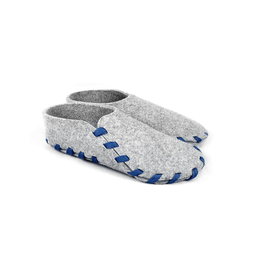 Lasso Classic Slippers Grey&Blue