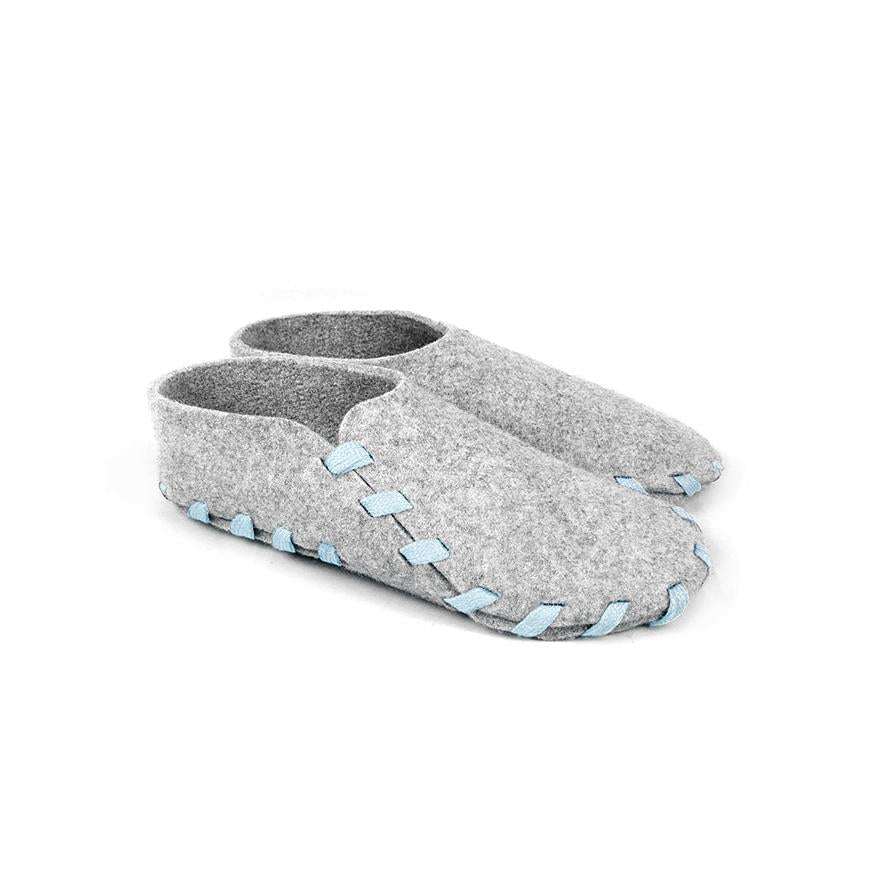 Lasso Classic Slippers Grey&Light Blue