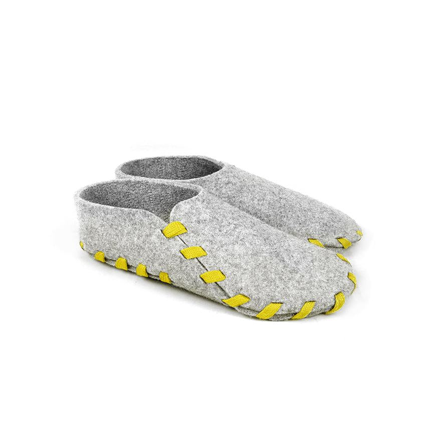 Lasso Classic Slippers Grey&Yellow