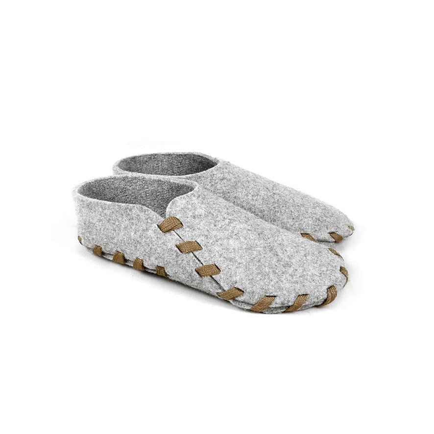 Lasso Classic Slippers Grey&Camel