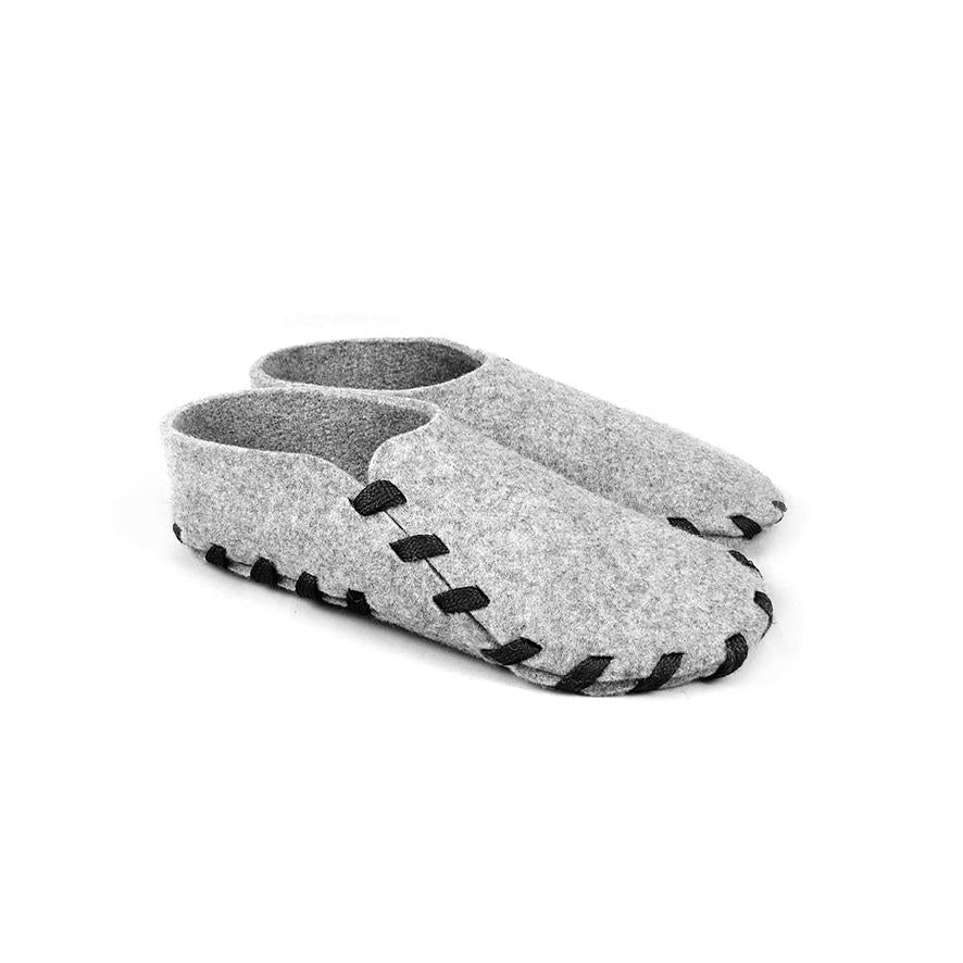 Lasso Classic Slippers Grey&Black