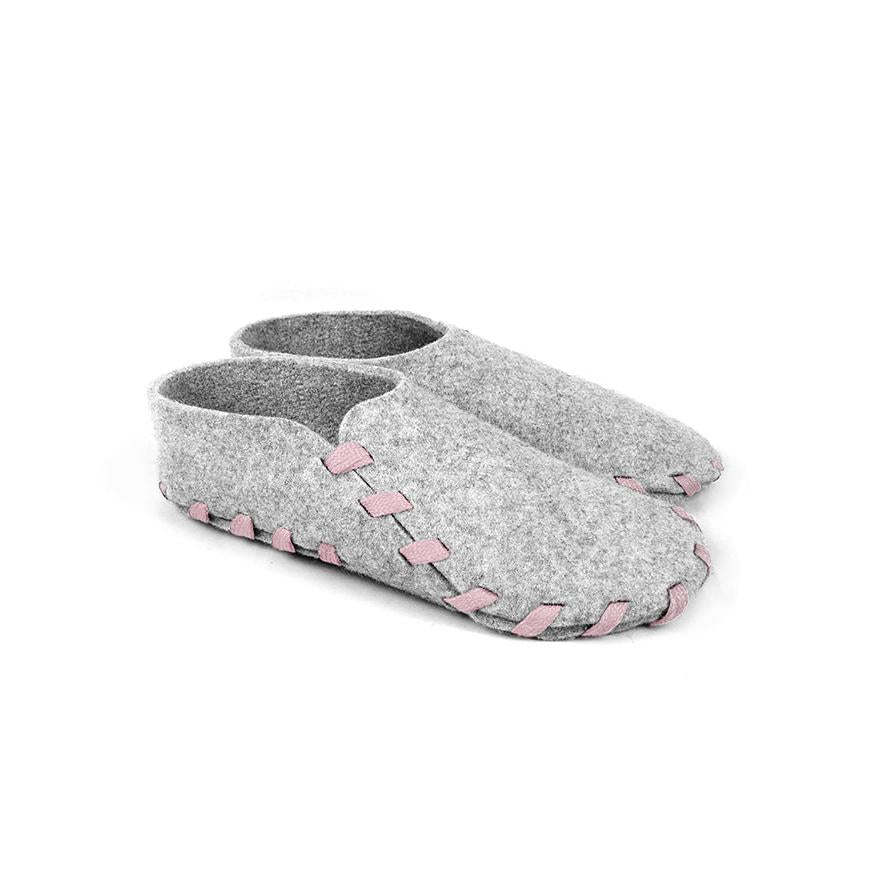 Lasso Classic Slippers Grey&Pink