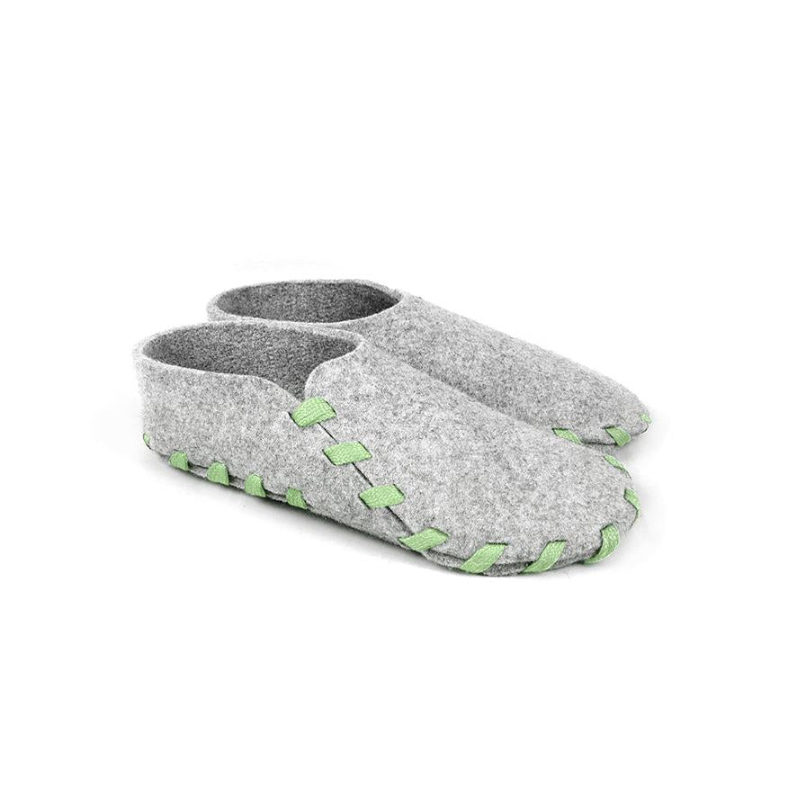 Lasso Classic Slippers Grey&Light Green